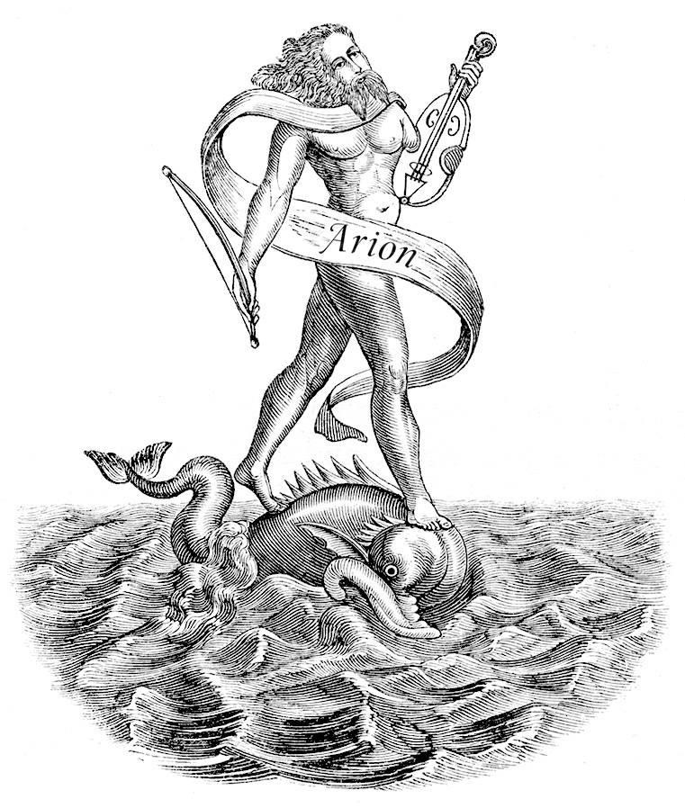 иллюстрации о легенде об арионе все, что этот